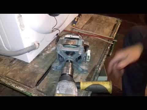 Ремонт двигателя стиральной машины, из-за чего не выходит на отжим