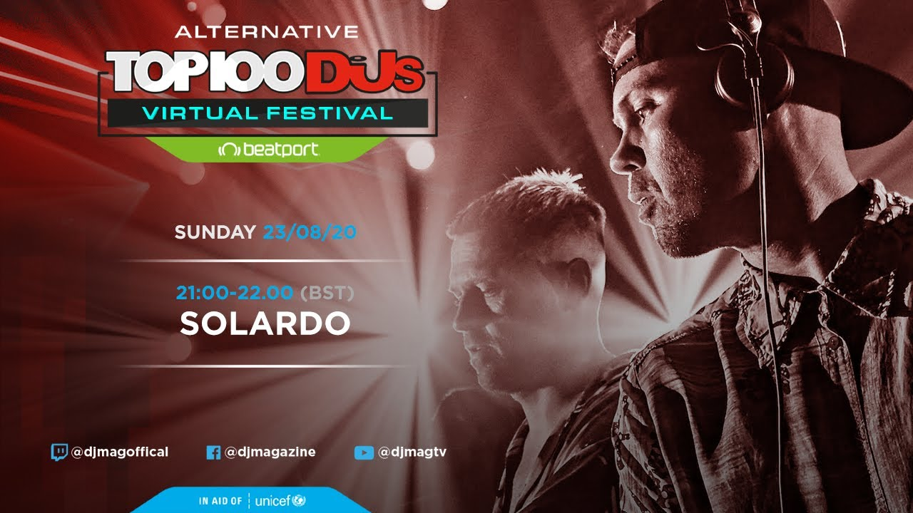 Solardo - Live @ The Alternative Top 100 DJs Virtual Festival 2020