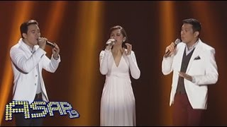 Sarah G, Erik & Gary V sing 'Take Me Out Of The Dark' on ASAP