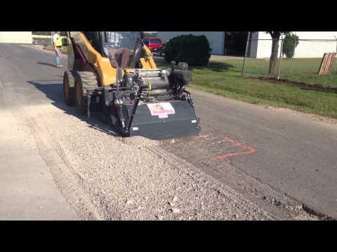RoadHog RH4060 Control Depth Milling Tire Ruts