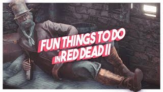 Things You Can Only Do In Red Dead Redemption II