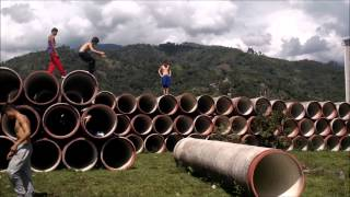 preview picture of video 'PARKOUR IBAGUE 2015'