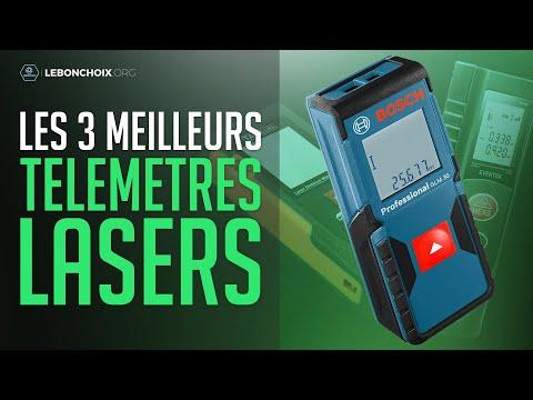 🔴 TOP 3 : MEILLEUR TÉLÉMÈTRE LASER 2020❓( COMPARATIF & TEST )
