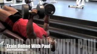 Calgary Fitness - Decline Dumbbell Press