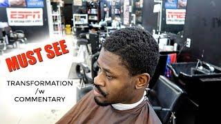 MUST SEE! | COARSE HAIR TRANSFORMATION AND FULL TUTORIAL | EPIC| 4C HAIR