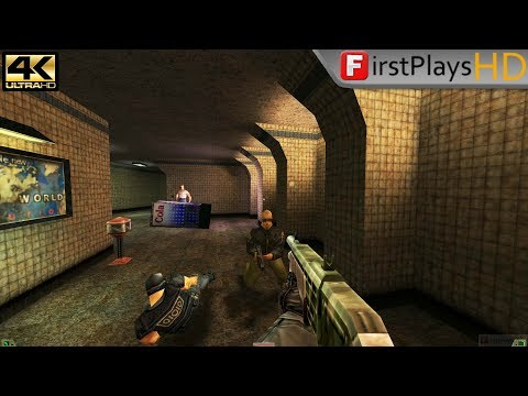 Soldier of Fortune (2000) - PC Gameplay / Win 10 / 4k 2160p