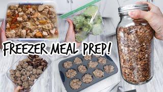 Fill Your Freezer! Healthy Freezer Meals For New Moms! Postpartum Prep