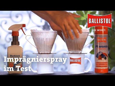 Pluvonin - das Imprägnierspray  von BALLISTOL KLEVER - Es wirkt!  dauerhaft...