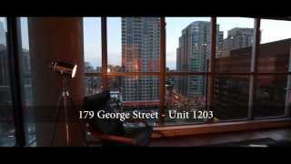 preview picture of video '1203-179 George Street - Loft 1+Den in the Byward Market Area of Ottawa'