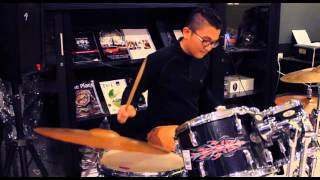 Stay the night - Zedd (Drum 'twenty one two' Cover by Nathanael Joy)