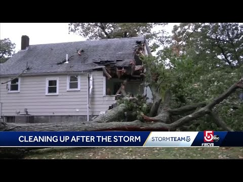 Cleanup continues after wicked October storm