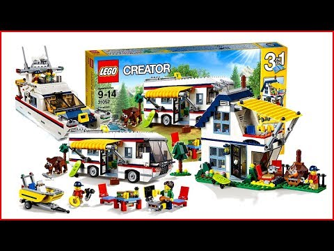 UNBOXING LEGO 31052 Creator Vacation Getaways Construction Toy