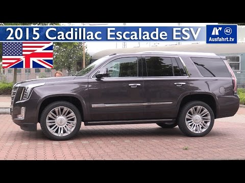 2015 Cadillac Escalade - Test, Test Drive and In-Depth Review (English)