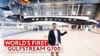 Meet the World's New Record Breaking Gulfstream G700