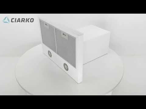 Вытяжка CIARKO Top 60 (белый)