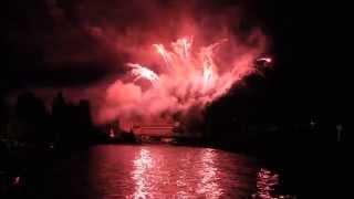 preview picture of video 'Feu artifice du 14 juillet à Sens'
