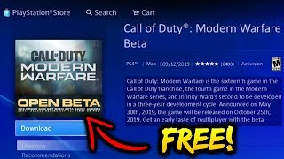 How to Download Modern Warfare Beta For Free (How to Play Modern Warfare Beta PS4/XBOX ONE/PC Codes)