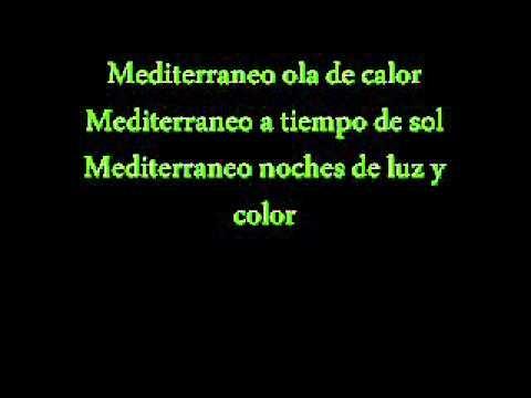 Cancion Mediterraneo 3x33