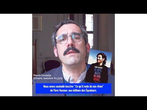 Pierre Coutelle Sélection du Prix du livre du Réel 2019