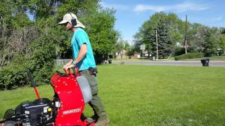 Mowing Video With Sound!