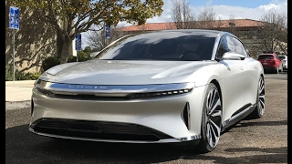 FIRST DRIVE: Lucid Air w/ full interior — ride, drive and walkaround