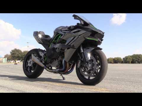 Kawasaki H2R Track Test