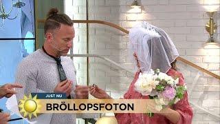 Här Ger Peter Bort Sin Vigselring Till Tilde! - Nyhetsmorgon (TV4)