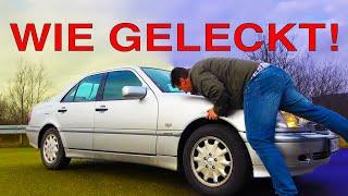 EINZIGARTIG! Mercedes C180 W202 - ROSTFREI, MÄNGELFREI, wie geleckt!   GM Service Nagel