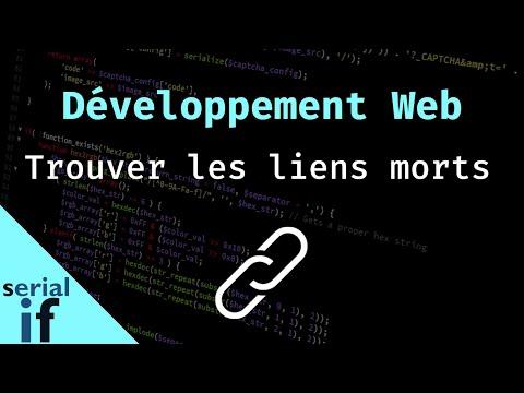 Développement web - Trouver les liens morts (W3C)