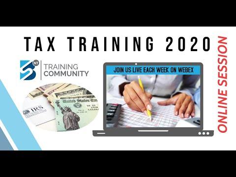 Online Tax Preparation Training Program