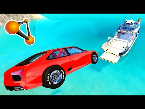 Epic High Speed Jumps #5 - BeamNG Drive