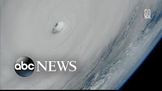 Hurricane Michael viewed from space