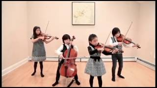 Playing Bach is no childs play Watch these kids master the master