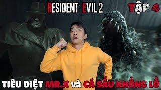 RESIDENT EVIL 2 CrisDevilGamer | Tập 4: TIÊU DIỆT MR.X và CÁ SẤU KHỔNG LỒ