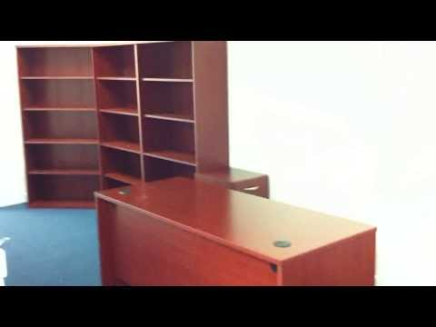Bush office desk assembly service video in Baltimore MD by Furniture Assembly Experts LLC