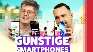4 Gute & Günstige Smartphones im Vergleich