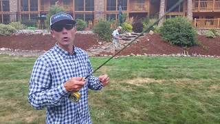 What is false casting fly fishing