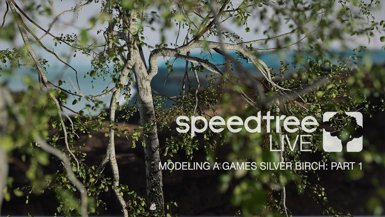 SpeedTree Live | Modeling a Games Silver Birch | Part 1