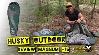 Husky Schlafsack Magnum 15  Review Husky Winterschlafsack