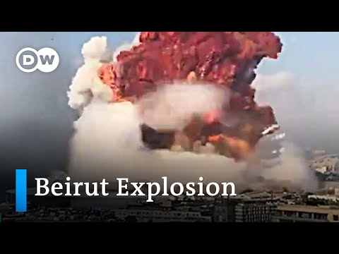 Beirut explosion – Multi-angle footage | DW News