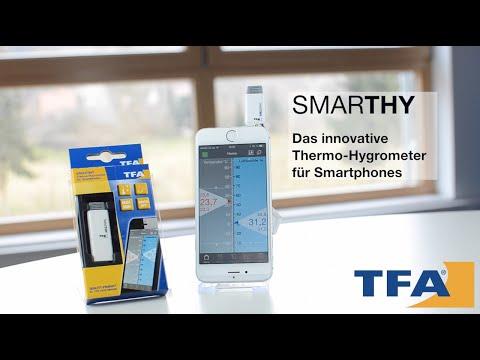 TFA Smarthy thermo-hygrometer voor smartphones