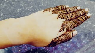 Video Beautiful Henna Design For Fingers 2017 Heena Vahid