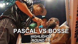 Jean Pascal vs Steve Bossé Highlights round 1-5