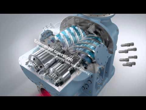 GEA Grasso Screw Compressor Product Animation - zdjęcie