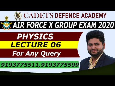 AIR FORCE X-GROUP PHYSICS | BY IMS SIR | FLUID DYNAMICS 06 | CADETS DEFENCE ACADEMY | AIR FORCE EXAM