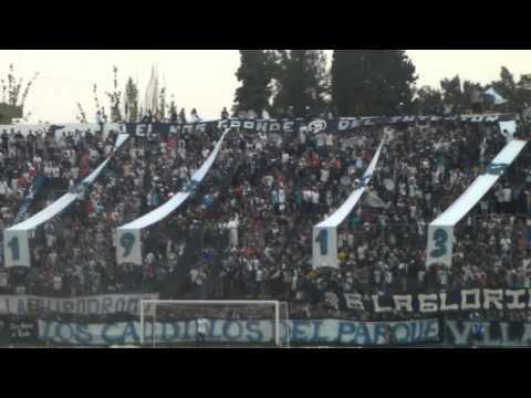 """""""los caudillos del parque vs villa san carlos"""" Barra: Los Caudillos del Parque • Club: Independiente Rivadavia"""