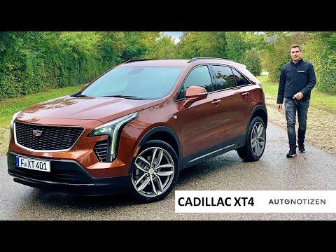 Cadillac XT4 350D AWD Sport 2021: SUV im Review, Test, Fahrbericht