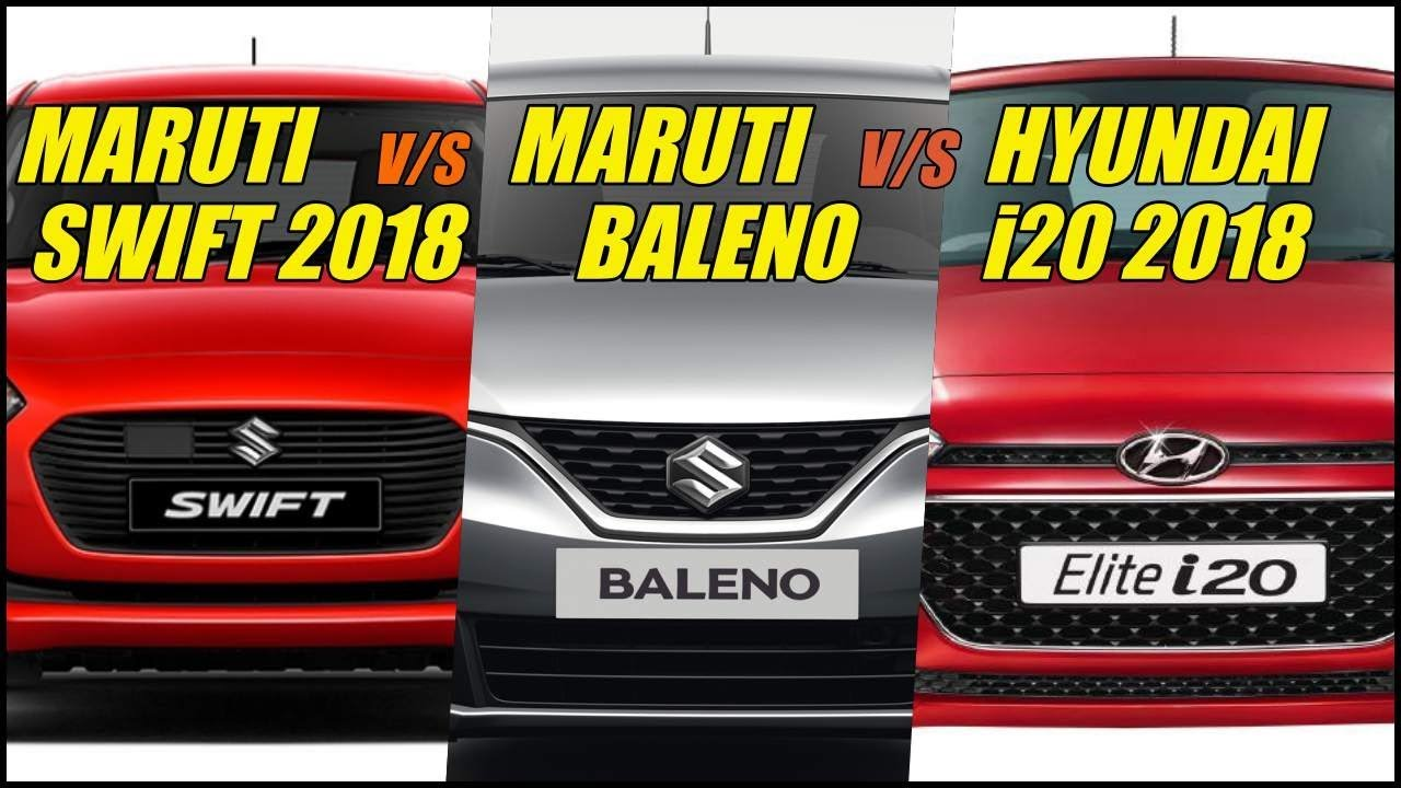 Motoroctane Youtube Video - Maruti Swift 2018 vs Hyundai i20 2018 vs Baleno Comparison in Hindi | MotorOctane | MotorComparison