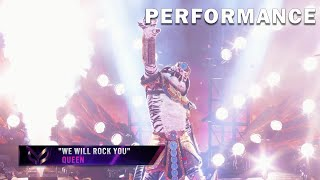 """White Tiger sings """"We Will Rock You"""" by Queen 