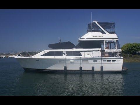Trojan Motor Yacht video